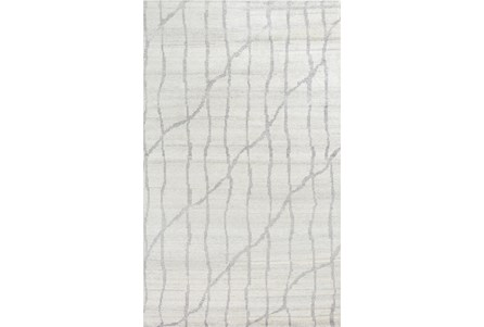 96X132 Rug-Structure Grey