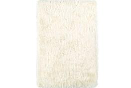 96X120 Rug-Lustre Shag Ivory
