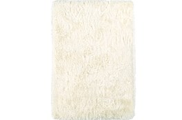 108X156 Rug-Lustre Shag Ivory