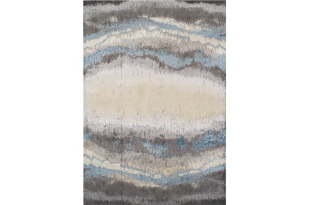 94X127 Rug-Pewter Watermark - Main