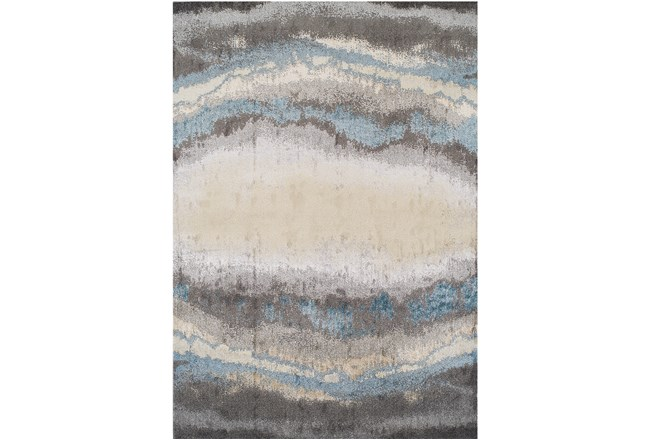 94X127 Rug-Pewter Watermark - 360