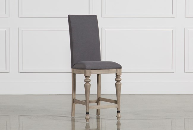 Caira Upholstered Counterstool - 360