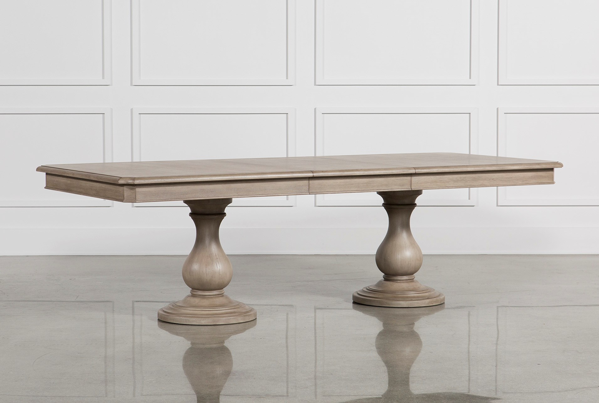 Caira extension pedestal dining table qty 1 has been successfully added to your cart