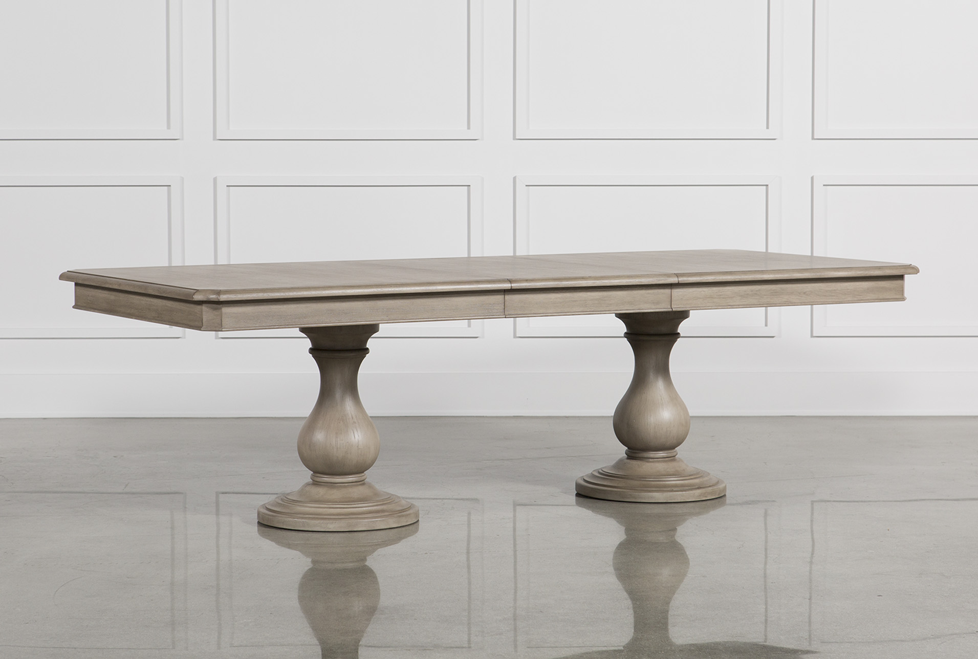 Lovely Caira Extension Pedestal Dining Table (Qty: 1) Has Been Successfully Added  To Your Cart.