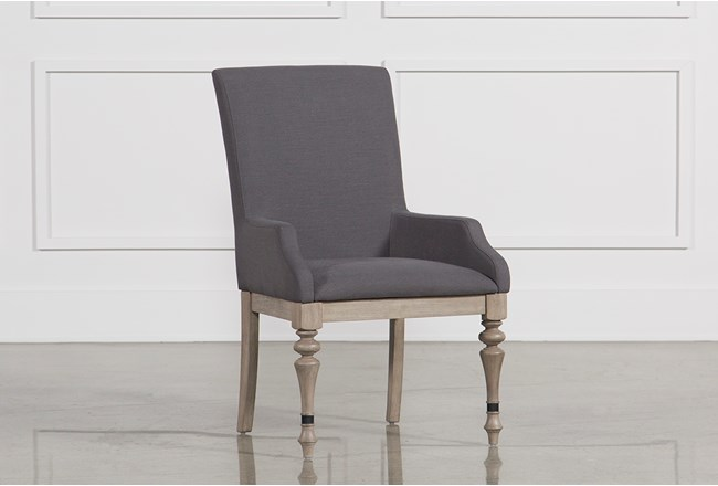 Caira Upholstered Arm Chair - 360