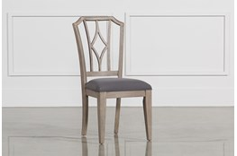 Caira Upholstered Diamond Back Side Chair