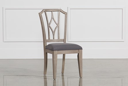 Caira Upholstered Diamond Back Side Chair