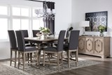Caira 9 Piece Extension Counter Set - Room