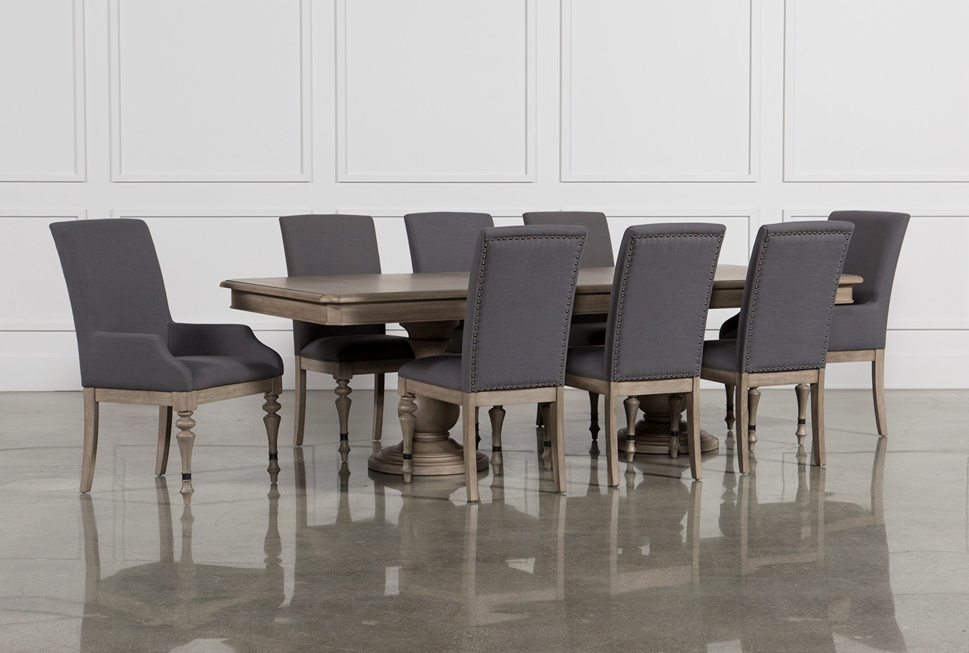 Caira Extension Pedestal Dining Table | Living Spaces