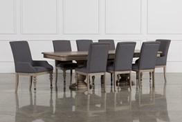 Caira 9 Piece Extension Dining Set