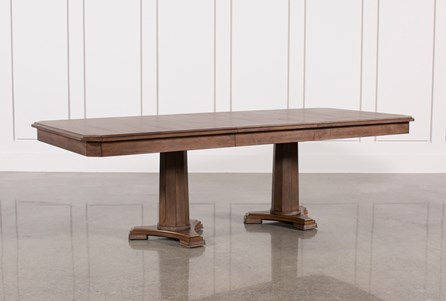 Belmont Extension Pedestal Dining Table