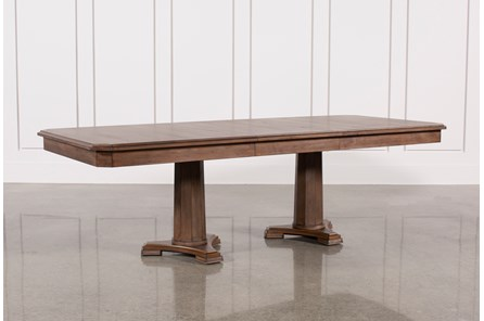 Belmont Extension Pedestal Dining Table - Main