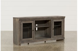 Sinclair Grey 68 Inch TV Stand