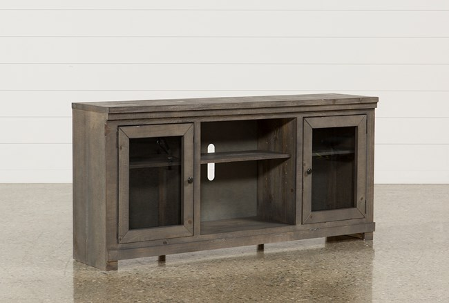 Sinclair Grey 68 Inch TV Stand - 360