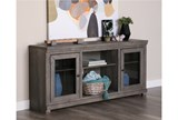 Sinclair Grey 68 Inch TV Stand - Room