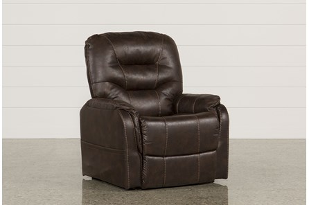 Brantly Walnut Power-Lift Chair