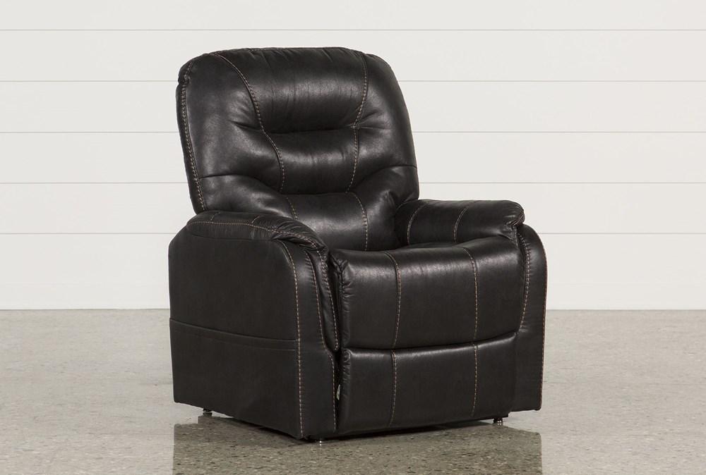 Brantly Black Power-Lift Chair