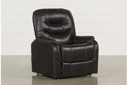 Brantly Black Power-Lift Chair - Main