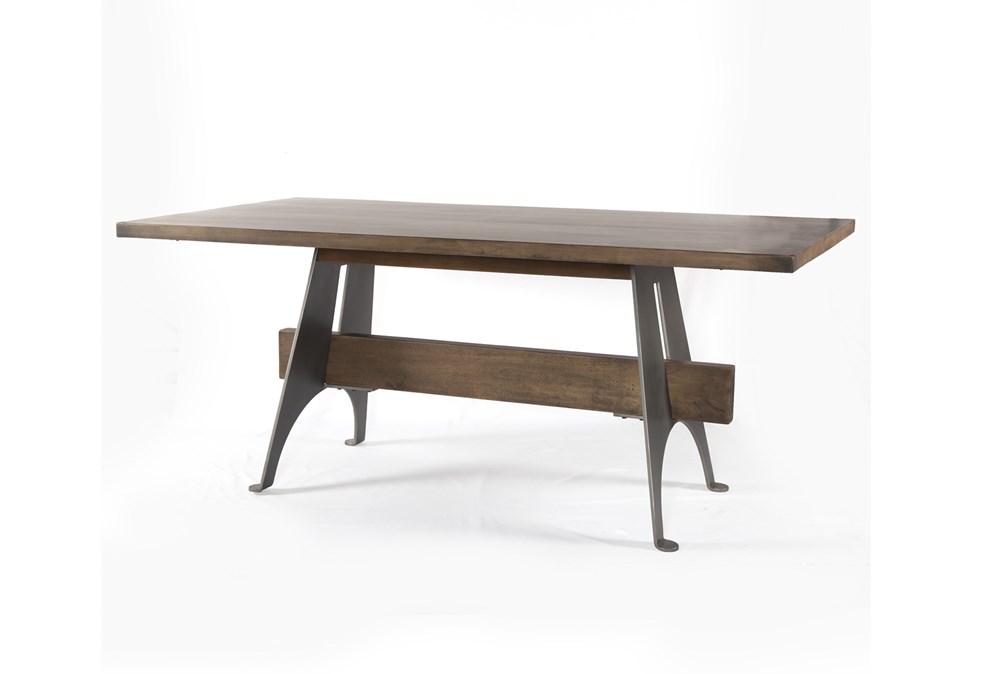 Mango Wood/Iron Desk