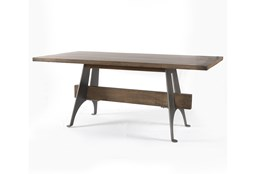 Mango Wood/Iron Desk