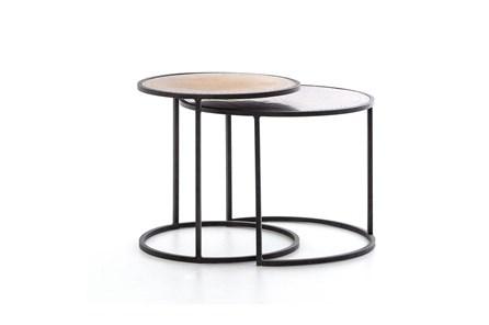 Iron & Brass Nesting Tables - Main