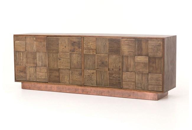 Reclaimed Elm 91 Inch  Sideboard - 360