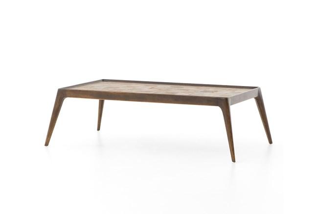 Reclaimed Elm Coffee Table - 360