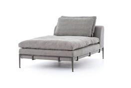 Linen & Iron Chaise
