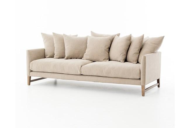 Poplar & Fabric Sofa - 360