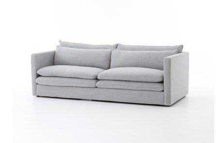 Poplar & Fabric 84 Inch Sofa - Main