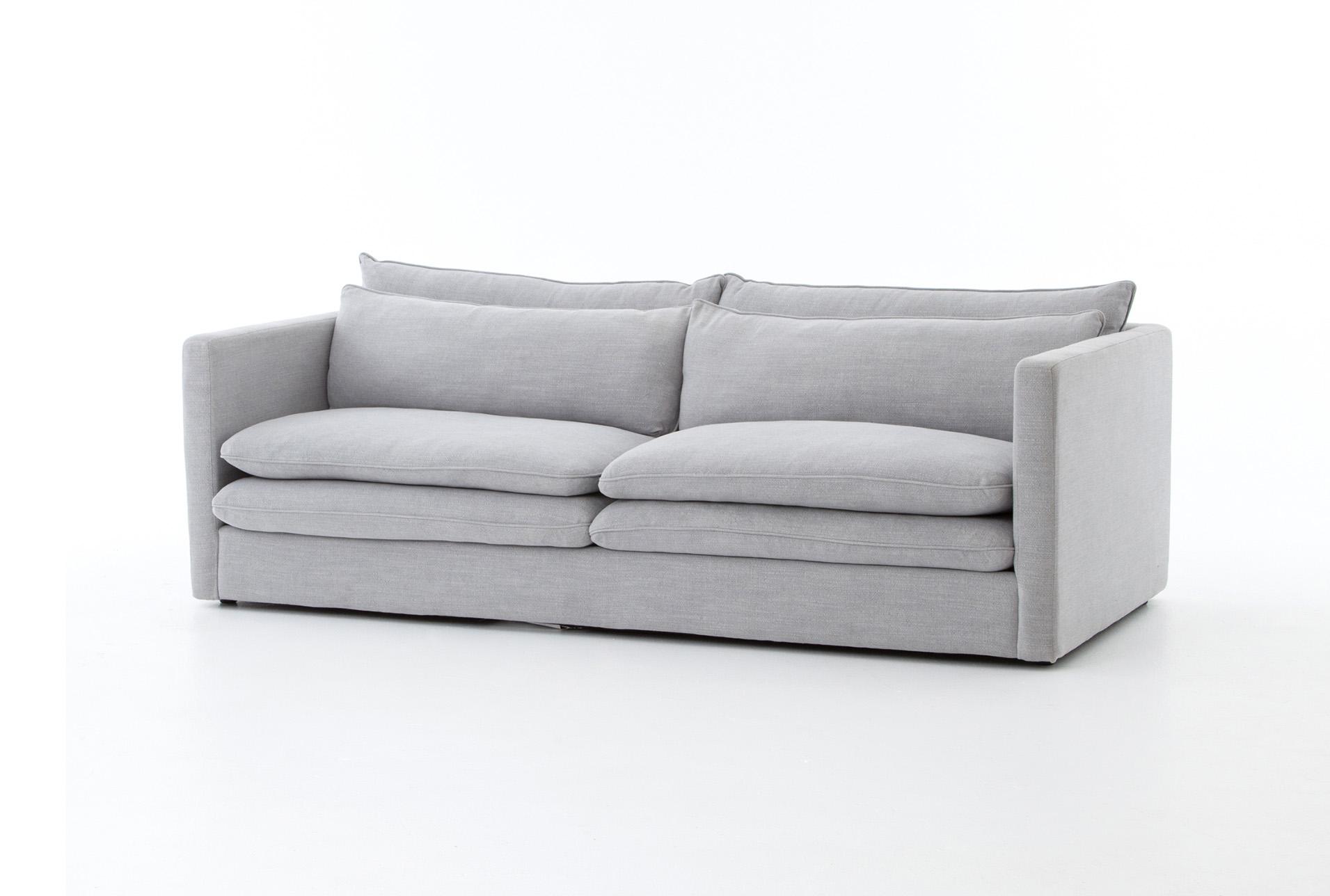 Attractive Poplar U0026 Fabric 84 Inch Sofa   360 Elements