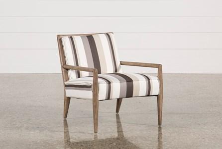 Poplar & Fabric Chair