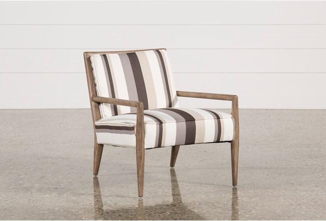 Poplar & Fabric Chair - 360