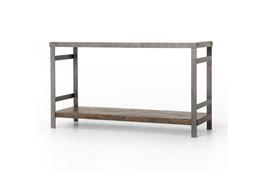 Mango Wood & Iron Console Table