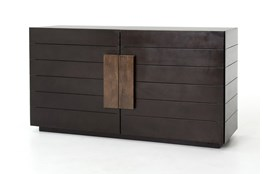 Mango Wood & Iron 60 Inch Sideboard