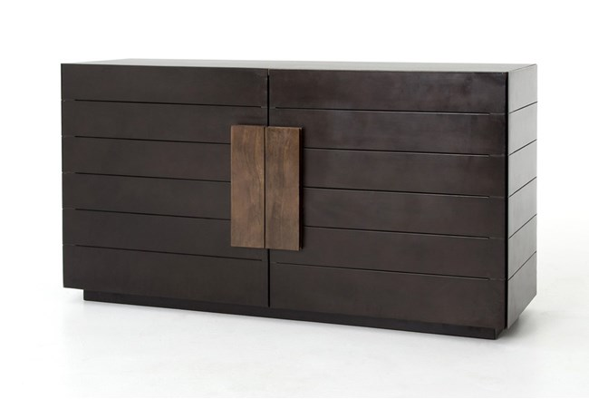 Mango Wood & Iron 60 Inch Sideboard - 360
