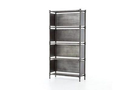 Iron 70 Inch Tall Bookshelf - Main