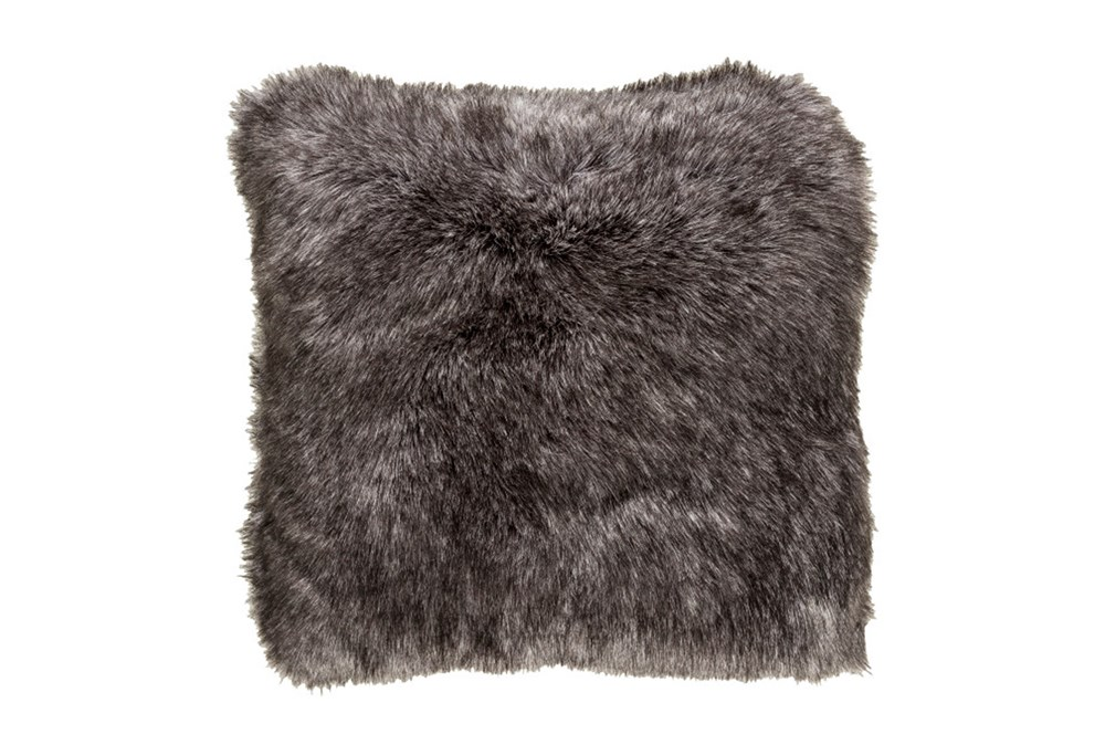 Accent Pillow-Graphite Fur 20X20