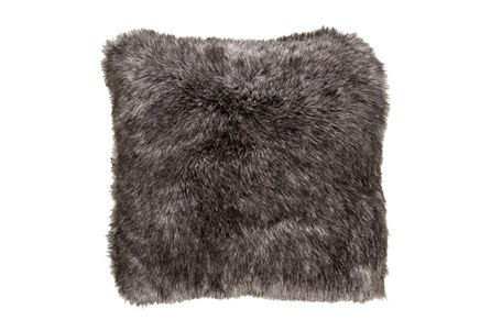 Accent Pillow-Graphite Fur 20X20 - Main
