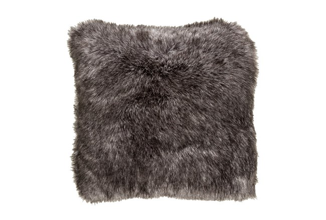Accent Pillow-Graphite Fur 20X20 - 360