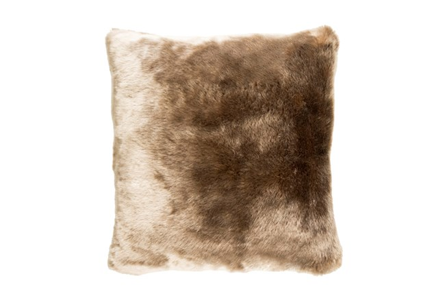 Accent Pillow-Taupe Fur 20X20 - 360