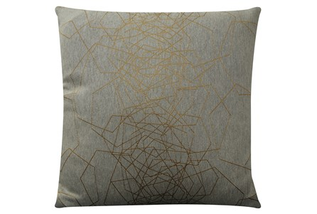 Accent Pillow-Tangled Web Gold 20X20