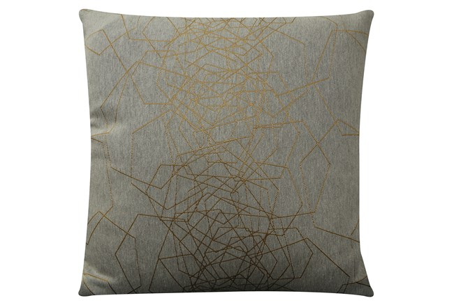 Accent Pillow-Tangled Web Gold 20X20 - 360
