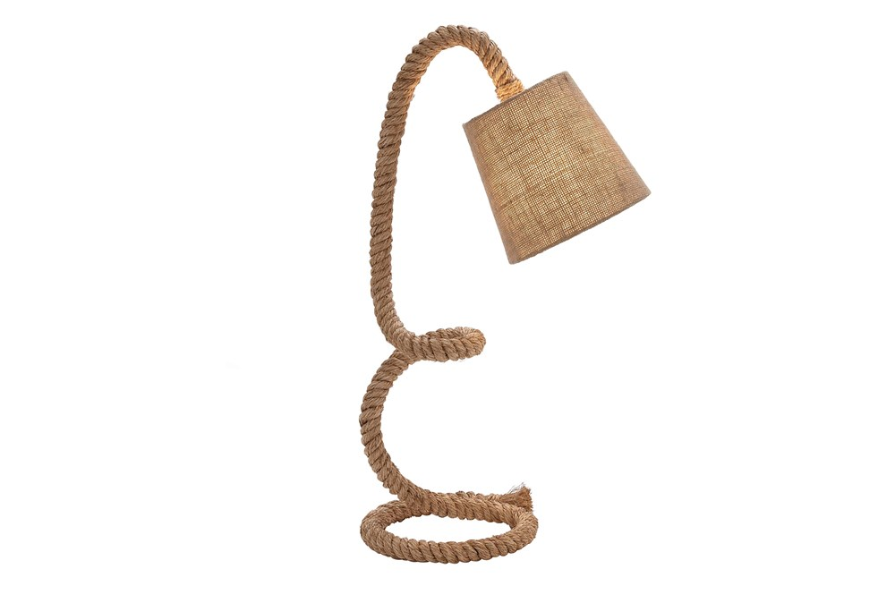 Table Lamp-Twisted Rope