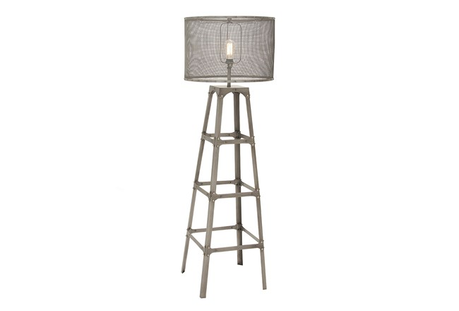 Floor lamp tower living spaces floor lamp tower 360 aloadofball Images