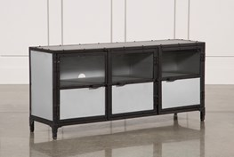 60 Inch Metal Console