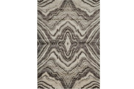 26X48 Rug-Grey Bookmatch Agate - Main