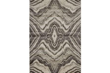96X132 Rug-Grey Bookmatch Agate