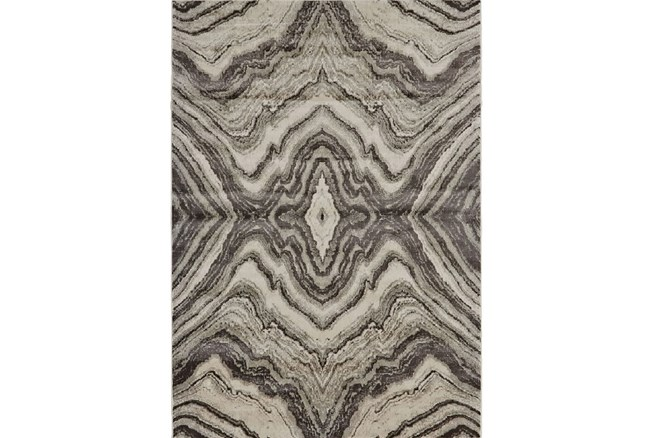 96X132 Rug-Grey Bookmatch Agate - 360
