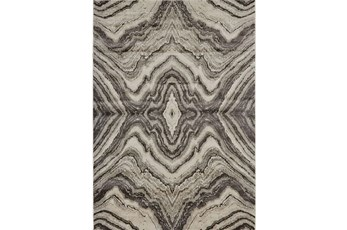 120X158 Rug-Grey Bookmatch Agate